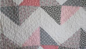 Chevron Baby Quilt Triangle Free For Easy and So Pretty In Pink ... & pretty-quilting-on-chevron-baby-quilt Adamdwight.com