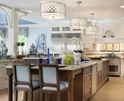 kitchen lighting trend. Dazzling Spj Lighting Trend New York Traditional Kitchen Decorators With Blue Accents Counter Stools Decorative Tile R