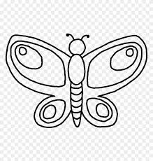 Printable Butterfly Outline Printable Butterfly Outline Coloring Pages Pattern Clipart