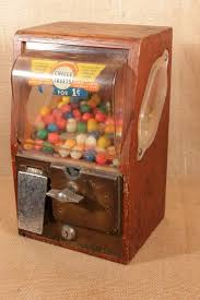 Wooden Vending Machine Inspiration Victor Vending Corp Vintage 48 Cent Wood Gumball Machine WOOD Sides