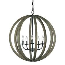 vineyard orb 4 light chandelier great wooden orb light fixture 5 light wood orb chandelier vineyard