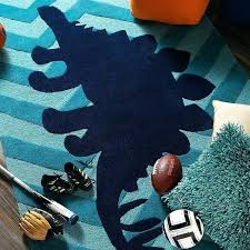 dinosaur area rugs blue kids rug your little tyke will love the motif and colorful background