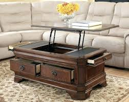 lift top coffee table with casters slate topped coffee table modern round slate top coffee table
