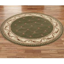 image of round area rugs for kitchen