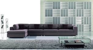 AE L2018R Contemporary Fabric Chaise Sectional Sofa American