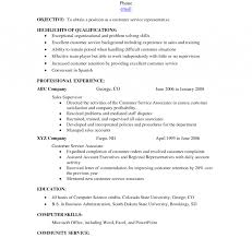 Customer Service Resume Template Free Resume Customer Service Skills Examples Of Resumes For Pics 93