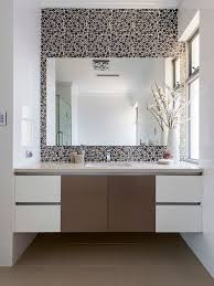 bathroom decorating ideas. Bathroom - Contemporary Beige Tile Idea In Perth With An Undermount Sink And Flat- Decorating Ideas E