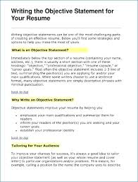 best objectives in resumes best ideas of 14 sample job objectives for resume 9 career objective
