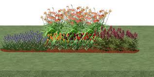 Small Picture Fall Winter Interest Rain Garden Plan A Full Sun Design Landscape
