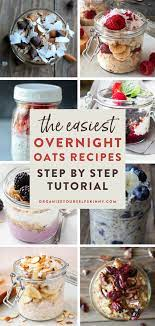 how to make overnight oats organize