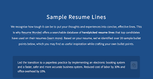 Score My Resume By Resume Worded Product Hunt