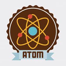atomdesign atom design vector premium download