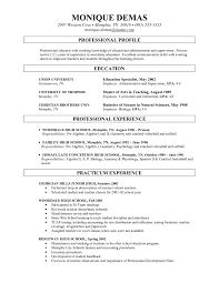 Sample Resume For Adjunct Professor Position Sample Adjunct Professor Resume No Teaching Experience Fresh Adjunct 1