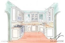 kitchen drawing perspective.  Kitchen 750x500 Kitchen Drawing Perspective One Point On