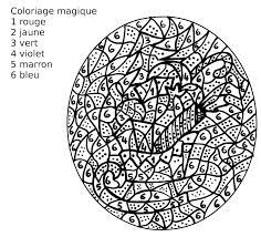 Maternelle Coloriage Magique Un Tra Neau De No L