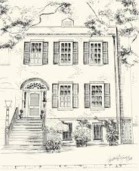 modern architectural drawings. Architectural Drawings Of S Drawn Hosue Front Pencil And In Color Modern