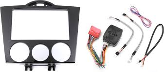 metra 95 7510 dash and wiring kit gloss black install and connect a new double din car stereo in a 2004 08 mazda rx 8 at crutchfield com