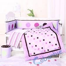 baby sheet sets 7piecse baby crib bedding set quilt bumper skirt fitted sheet