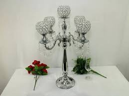 crystal chandelier table decor wedding centerpiece candle holder decoration banquet supply in holders from home garden on cente