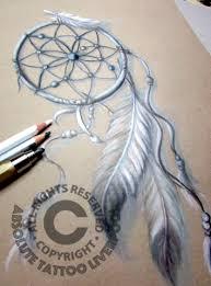 Black And White Dream Catcher Tattoo Magnificent Black White Tattoo Dreamcatcher Indian Style Drawing Tattoos