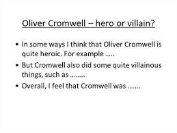 cromwell essay oliver cromwell essay