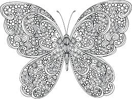 Butterfly Coloring Pages For Kids Butterfly Coloring Pages Printable