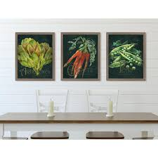 seed packet carrots framed on rectangular framed wall art with melissa van hise 16 in x 13 in seed packet carrots framed giclee