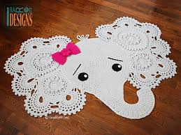 Elephant Rug Crochet Pattern Delectable Ravelry Josefina And Jeffery Elephant Rug Pattern By Ira Rott