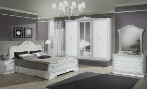 Italien Design Schlafzimmer Set In Weiß Liona 4 Teilig Ebay