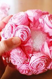 Make Tissue Paper Flower Balls How To Make Tissue Flowers Wedding Planning Paper Flowers