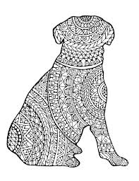 Small Picture Complex Dog Coloring Pages Coloring Page Complex Dog Coloring