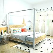 Queen Bed Canopy Queen Size Canopy Bed Frame Queen Size Bed Canopy ...