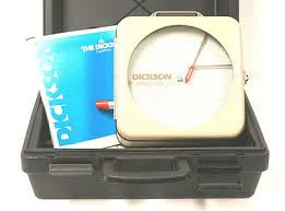 Dickson Chart Recorder Th8p2 Manual New Dickson Pr830imvb7p Pressure Chart Recorder 850 00