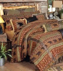 rustic cabin comforter sets items categories lodge quilt bedding for log inspirations bedroom bed