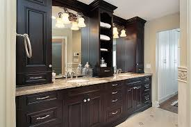 master bathroom cabinets ideas. Custom Built Bathroom Vanity Wood Master Cabinets Ideas O