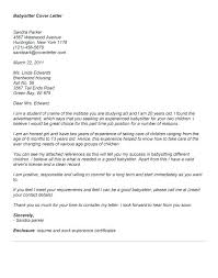 Example Of A Great Nanny Cover Letter Canadianlevitra Com