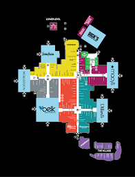 center map of southpark  a shopping center in charlotte nc  a