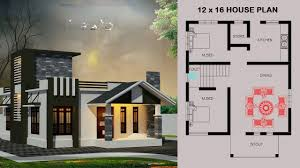 Kitchen Design 12 X 16 12 X 16 House Plan With House Design By Homezonline