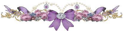 Resultado de imagen para barra separadora flores lilas para blog
