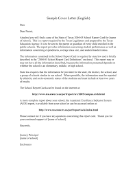 Date On Cover Letters Sample Cover Letter English