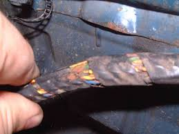e38 wiring harness repair sharp edge tends to cut into the harness