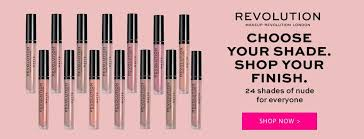 revolution rachel leary palettes revolution choose your shade