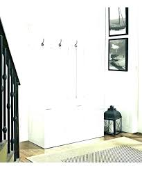 Entry Hall Bench With Coat Rack Mesmerizing Storage Hall Tree Coat Hanger With Bench Coat Rack And Shoe Bench