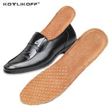 2019 kotlikoff pig skin leather orthotics insole for flat foot arch support orthopedic sport insoles for men and women shoes insert from shoesbuddy