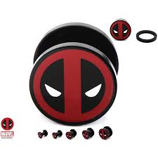 Deadpool - Logo Ear Plug 10 mm, 9,95 €
