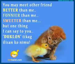 Visayan Friendship Quotes And Cebuano Visayan Text Messages SMS Inspiration Text Quotes About Friendship