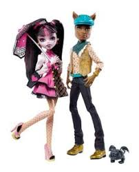 monster high draculaura and clawd wolf doll giftset game searches