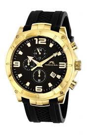 black and gold watches for men best watchess 2017 gold watches men porsamo bleu for porsamo bleu ethan silicone gold tone black