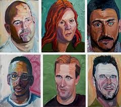 portraits of courage george w bush oil paintings of veterans