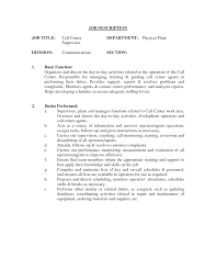 Warehouse Supervisor Job Description For Resume Job Supervisor Job Description For Resume 82